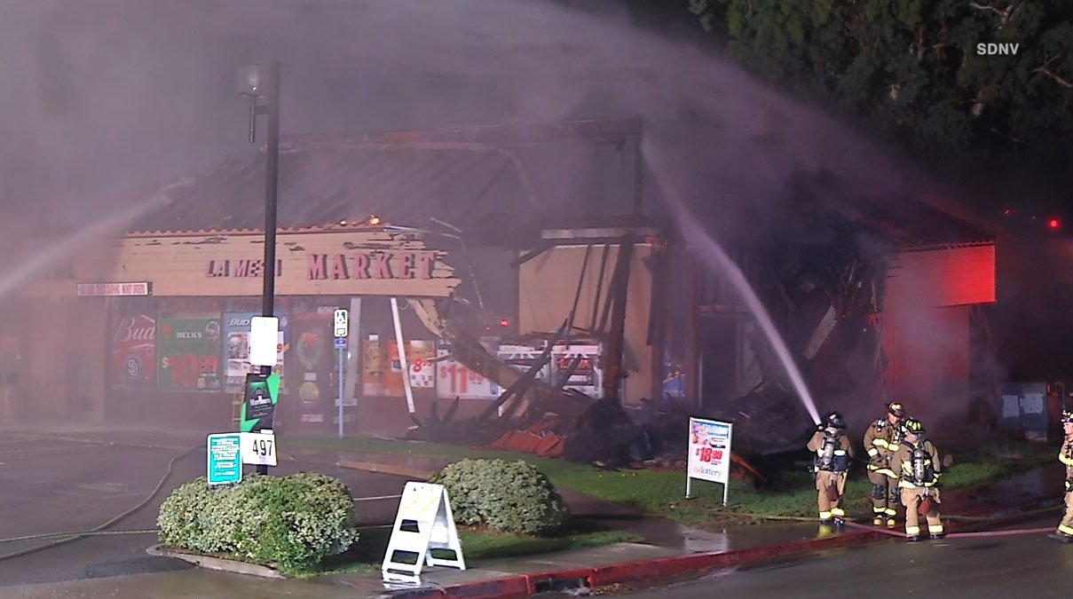 Fire Causes Significant Damage To La Mesa Liquor Store KUSI News San Dieg