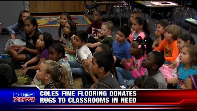 Coles Fine Flooring Donates The Gift Of A Lifetime To Teachers And Students