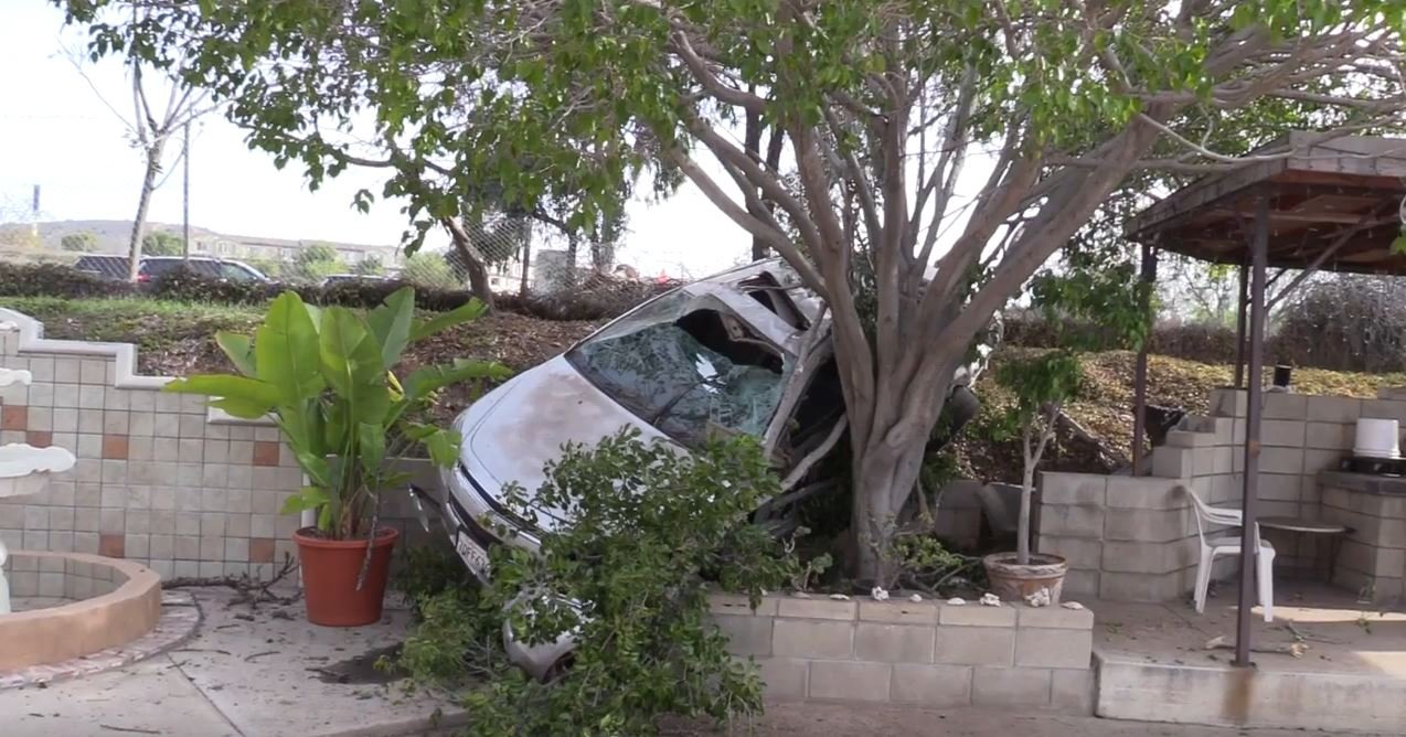 driver killed after vehicle crashes off i 805 into otay mesa bac