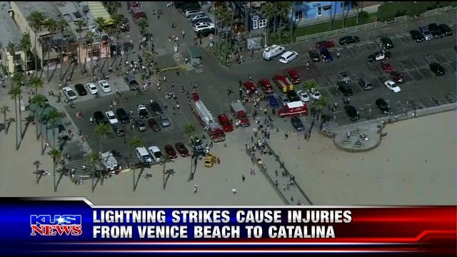 LOS ANGELES  CNS    Lightning strikes in Los Angeles County killed a  20 year old man in Venice Beach Sunday and injured nine other people   Man dies and several others injured after being struck by lightn  . Old Lightning Venice Ca. Home Design Ideas