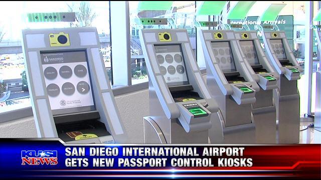 Passport San Diego >> Eight Passport Kiosks Unveiled At Lindbergh Field Kusi News