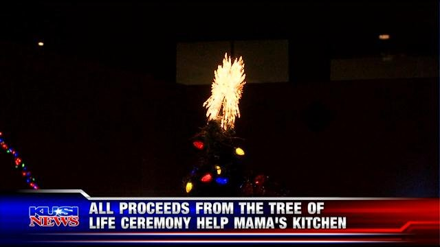 tree of life 39 tree lighting ceremony honors world aids day kusi