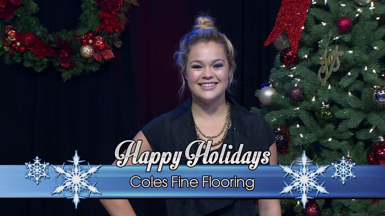 Coles Fine Flooring Holiday Greeting