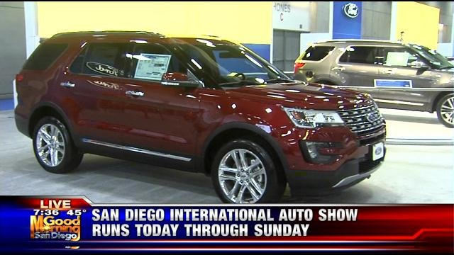 2016 San Diego International Auto Show - KUSI News - San ...